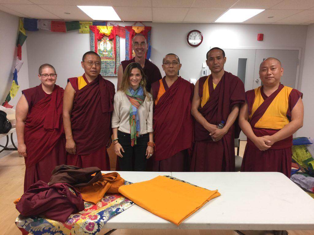 Enseignements sur plusieurs jours au Canada rassemblant différents moines de Toronto, Québec, Montréal...