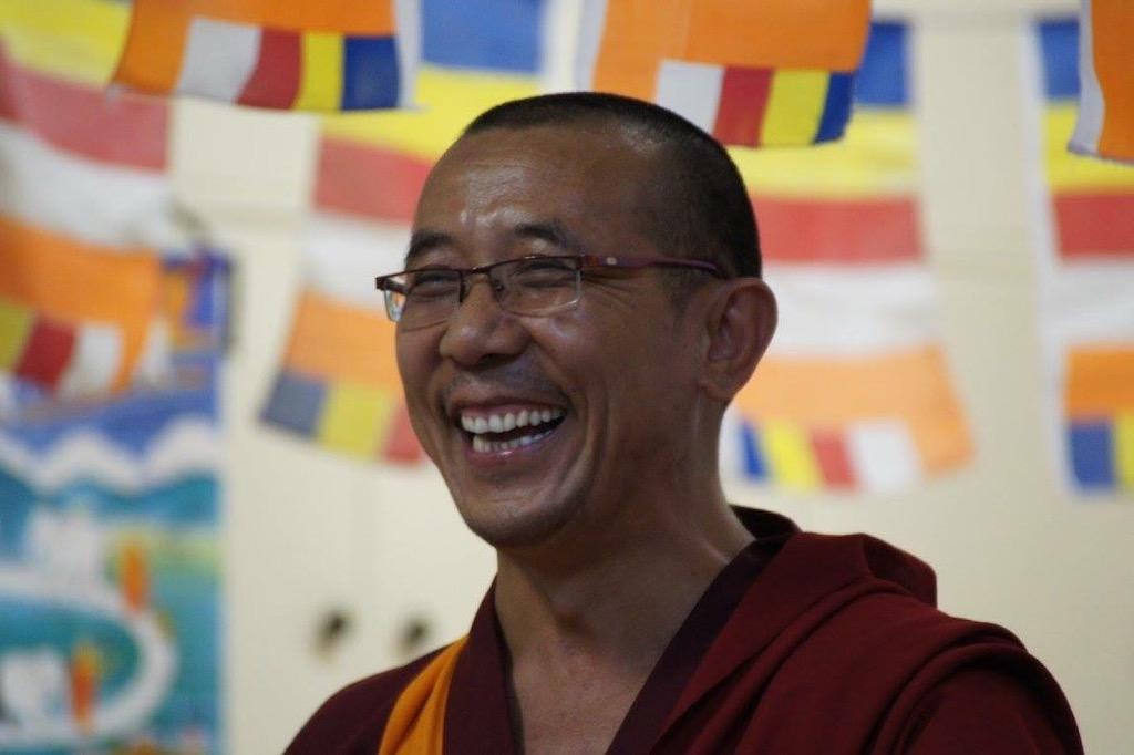 Lama Samten bouddhisme Tibétain