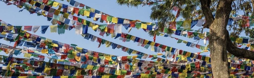 drapeaux de prières