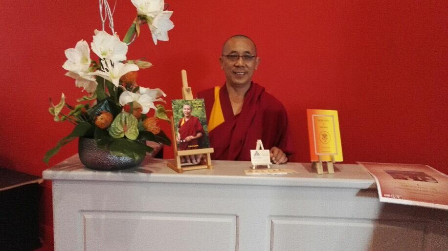 Lama Samten Maître Bouddhiste Tibétain