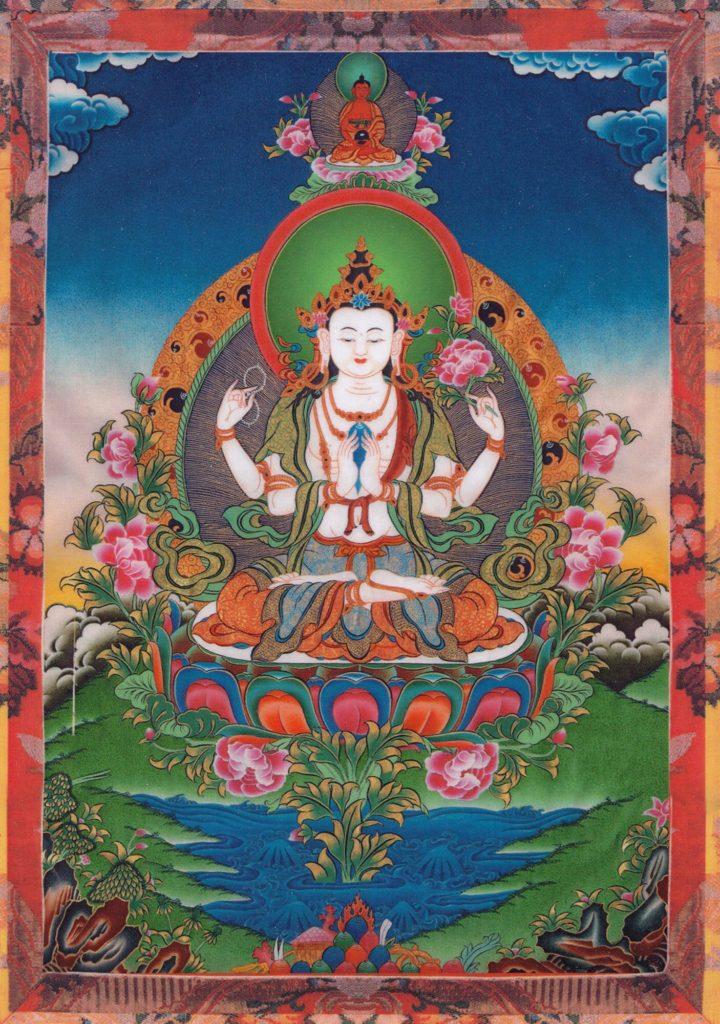 Bouddha de la compassion